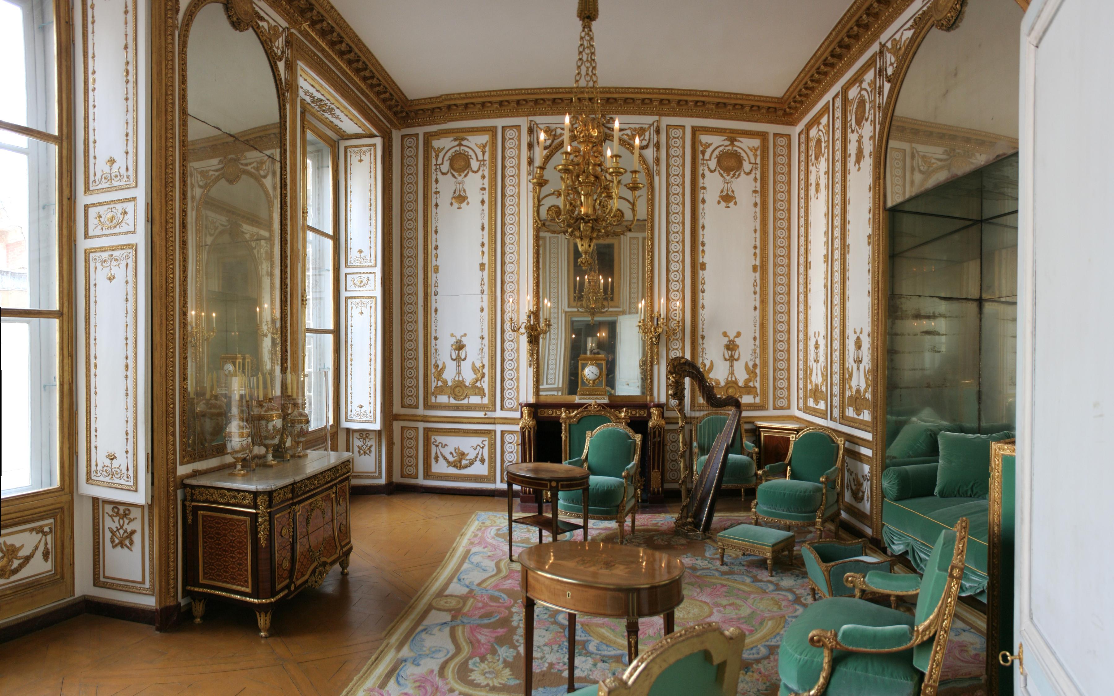 File:Versailles Appartements De Marie Antoinette Grand Cabinet Intérieur De  La Reine