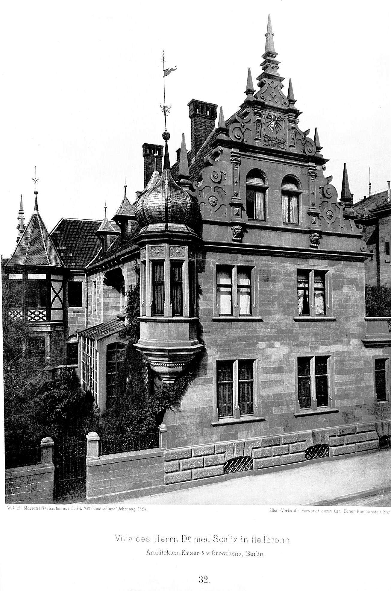 Architekten Heilbronn file villa in heilbronn architekten kaiser v groszheim berlin