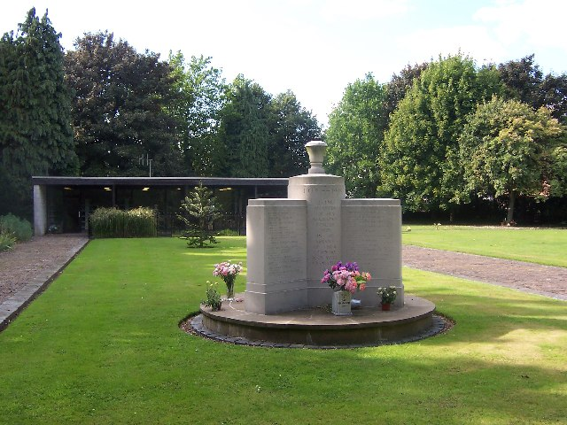 Dave Jacobs / WW2 Memorial to cremated war dead