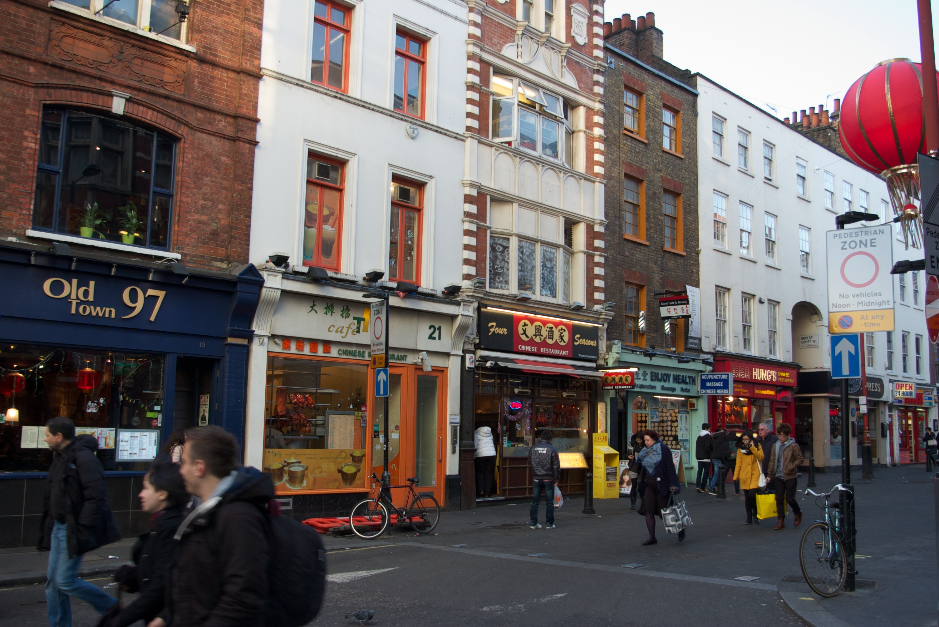 Chinatown London Restaurants Child Friendly