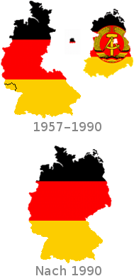 heutige bundesrepublik deutschland daruber die nach 1948 geteilten gebiete br deutschland bis 1990 berlin berlin frage