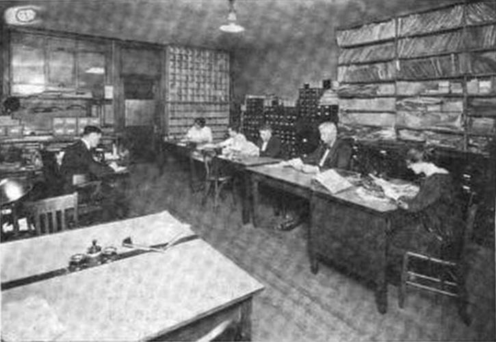 File:Worcester Telegram morgue (newsroom library) 1922 jpg