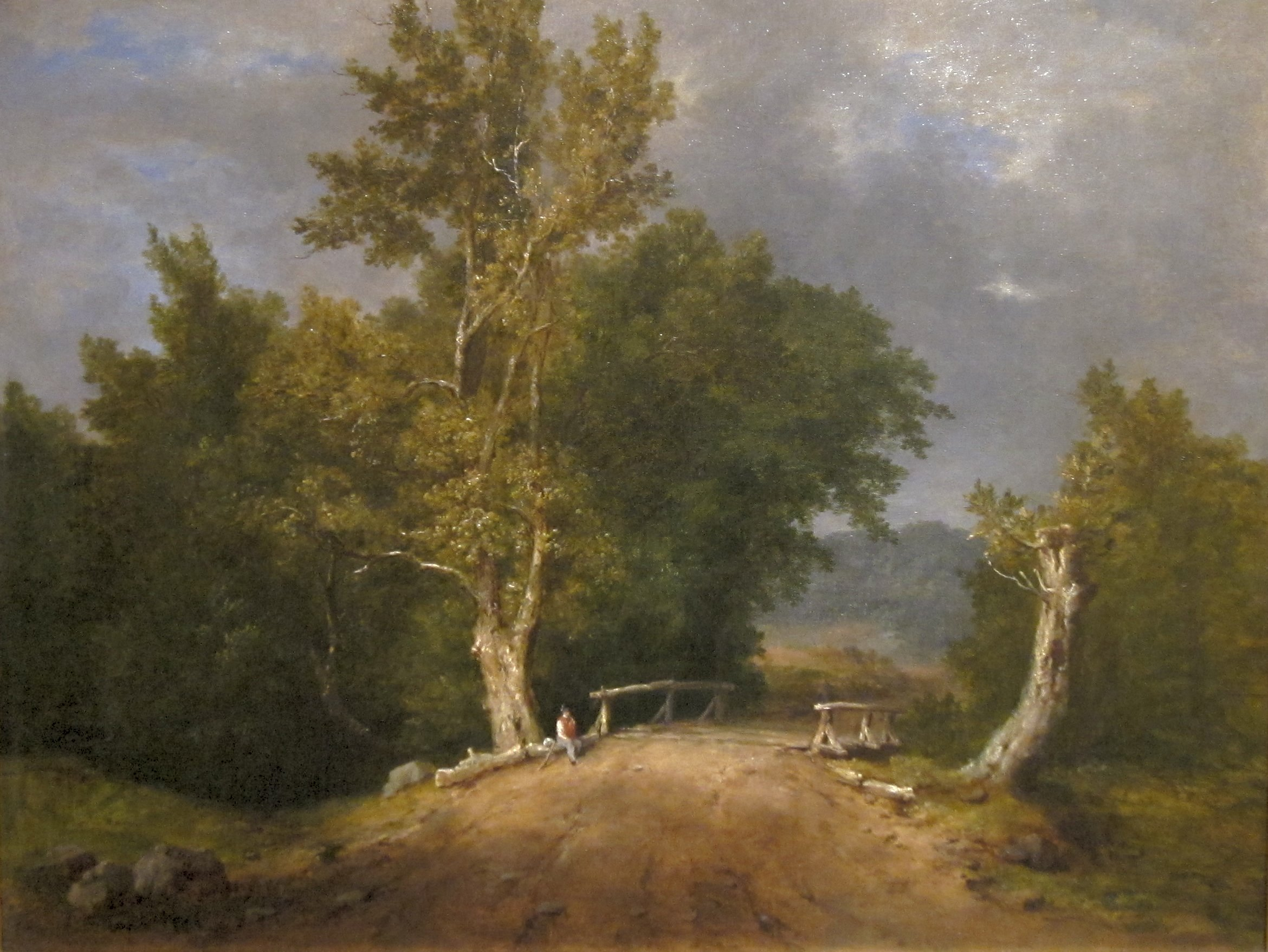 File:'Landscape' by George Inness, El Paso Museum of Art