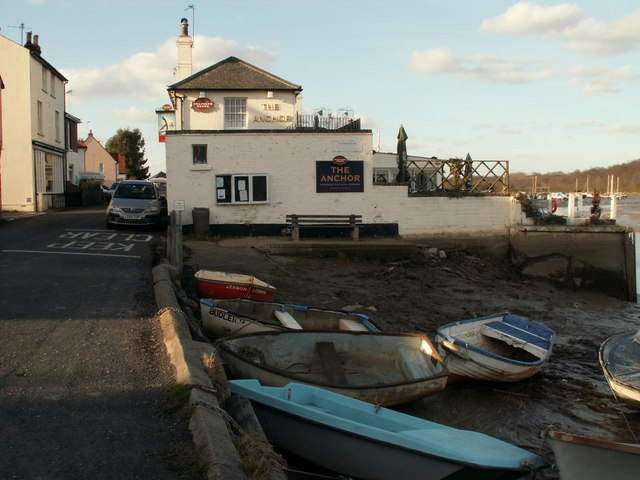 Creative Commons image of The Anchor @ Rowhedge in Colchester