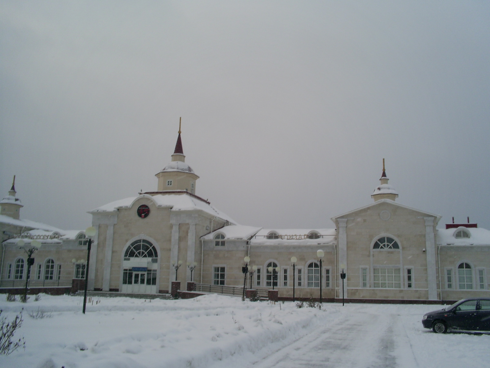 Железнодорожный вокзал шумерля картинки