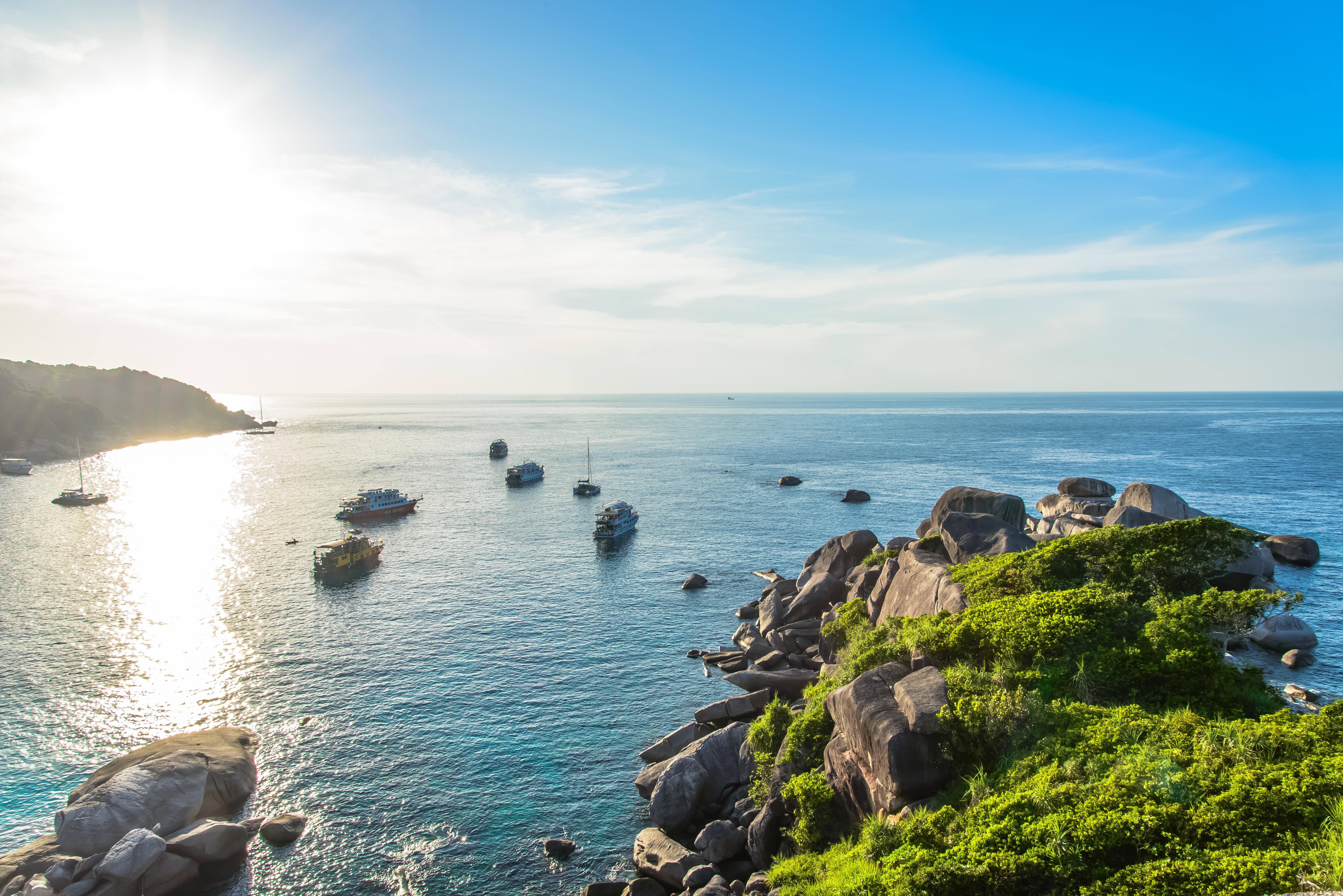 หมู่เกาะสิมิลัน - อุทยานแห่งชาติหมู่เกาะสิมิลัน