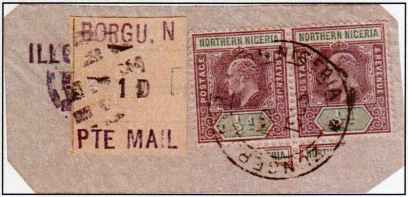British Colonialism in Nigeria British Colonial Stamps For