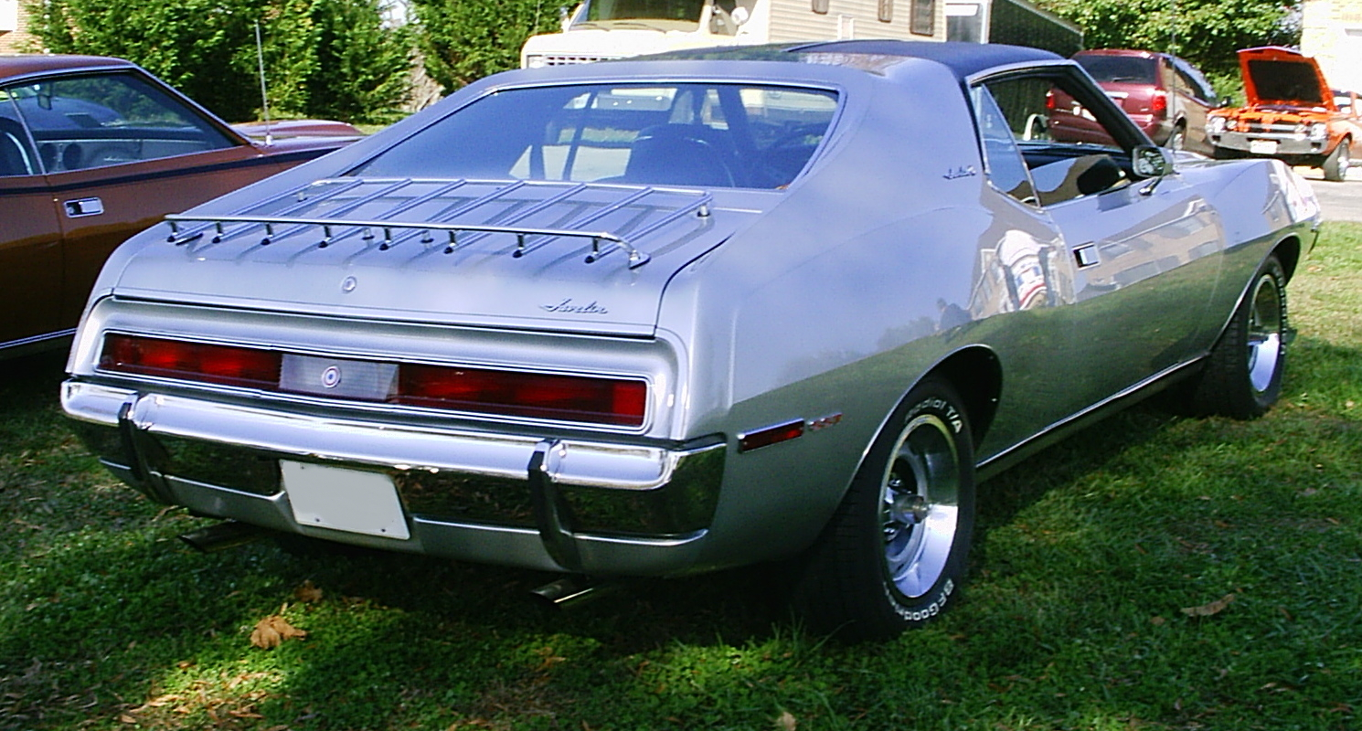 The Used Car Factory >> File:1971 Javelin SST silver umR.jpg - Wikimedia Commons