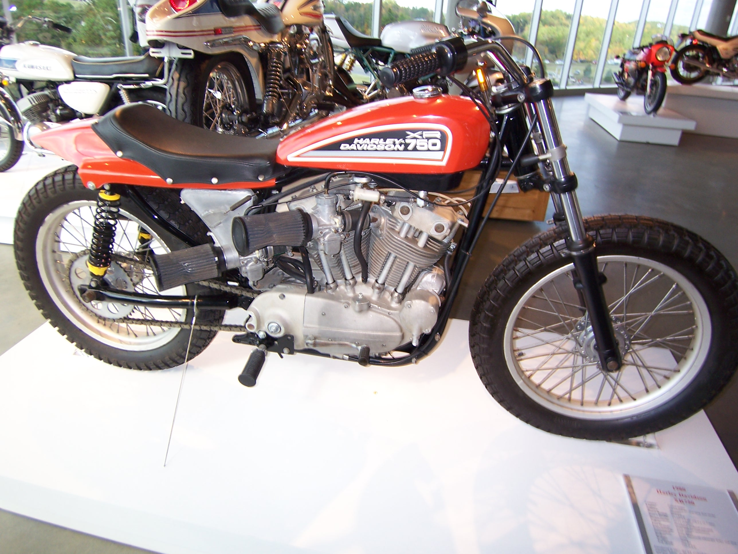 The Harley Davidson Xr 750: File:1980 Harley Davidson XR750 2.jpg