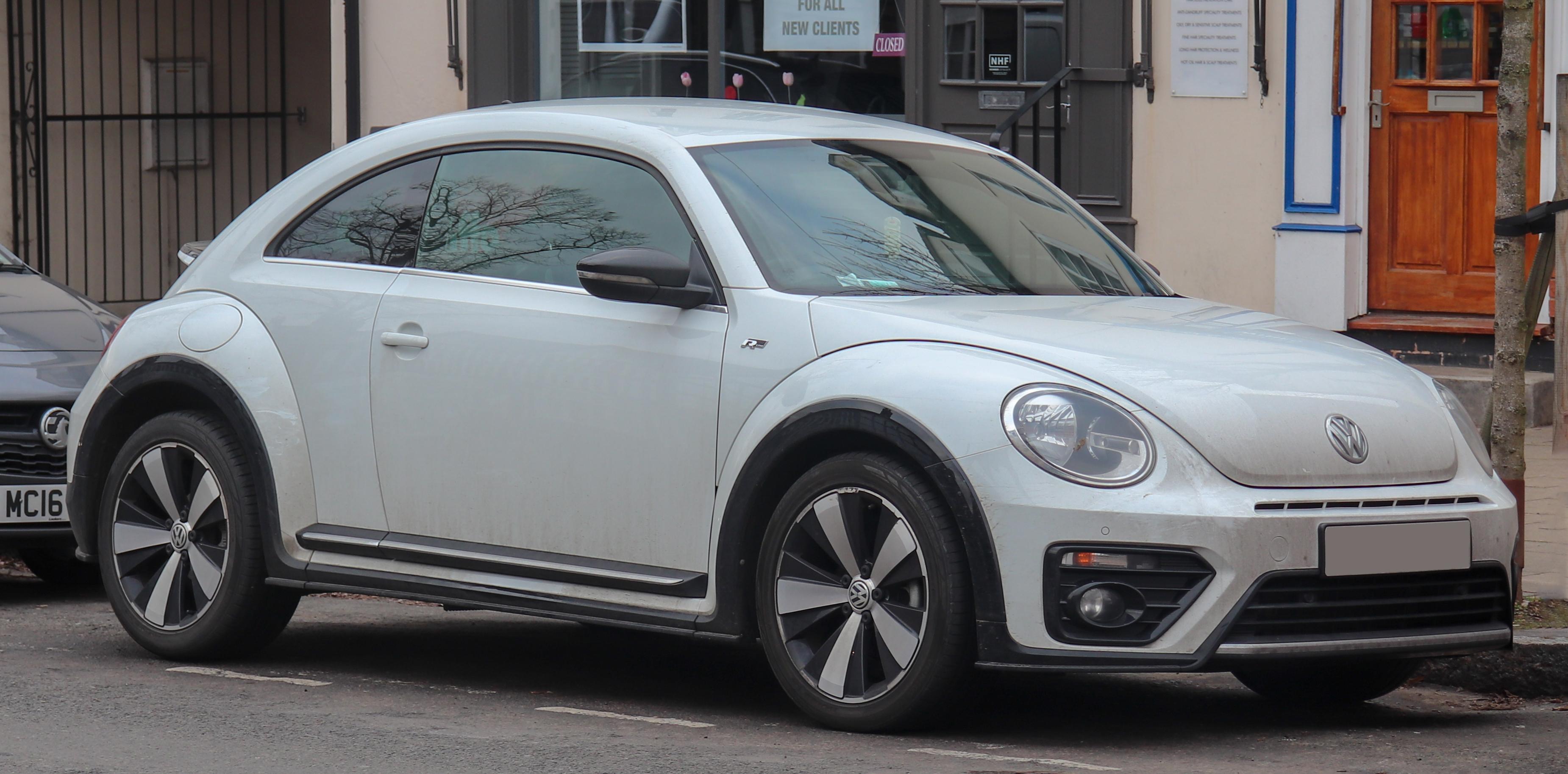 File 2017 Volkswagen Beetle R Line Tdi Bluemotion 2 0 Front Jpg