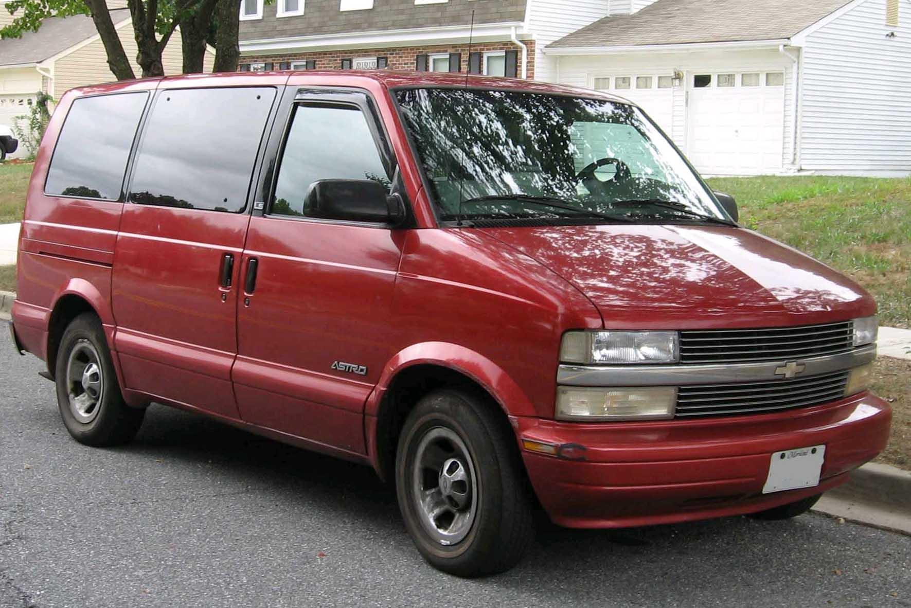 Archivo 2nd Chevrolet Astro Jpg Wikipedia La