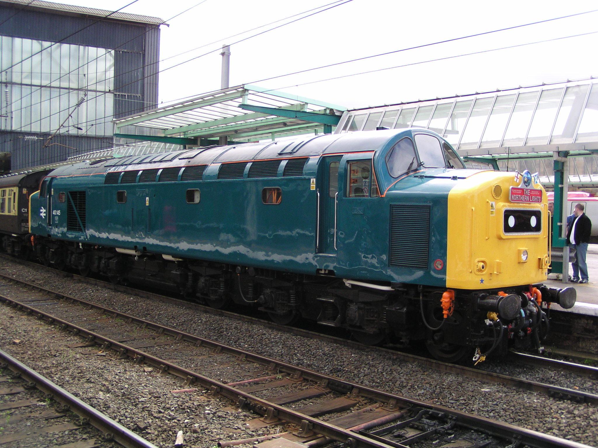 British Rail Class 40 Wikipedia Train Diesel Engine Diagram