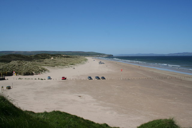 File:A westerly view along The Strand, Portstewart - geograph.org.uk - 1312074.jpg