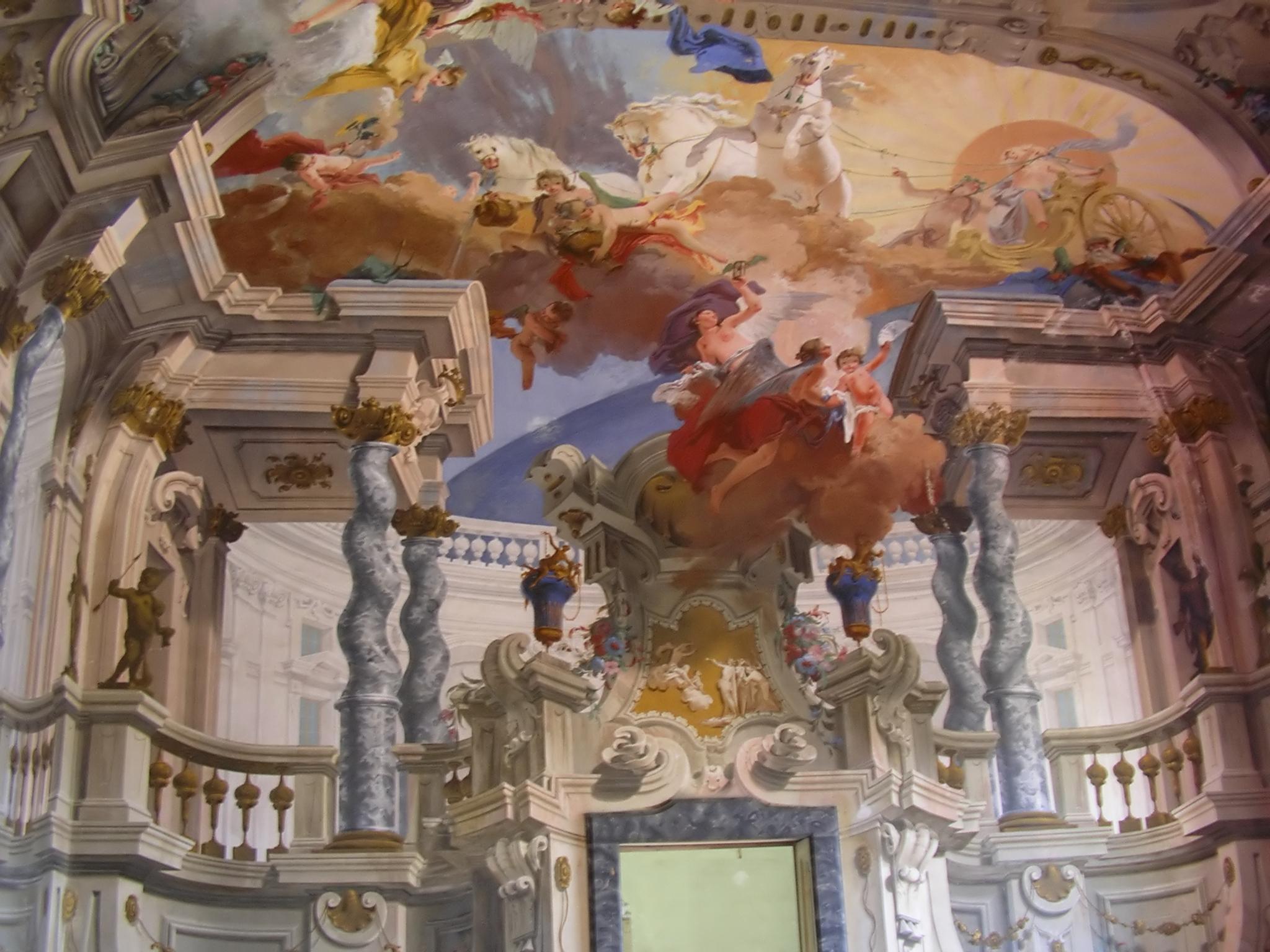 Italian Rococo Interior Design