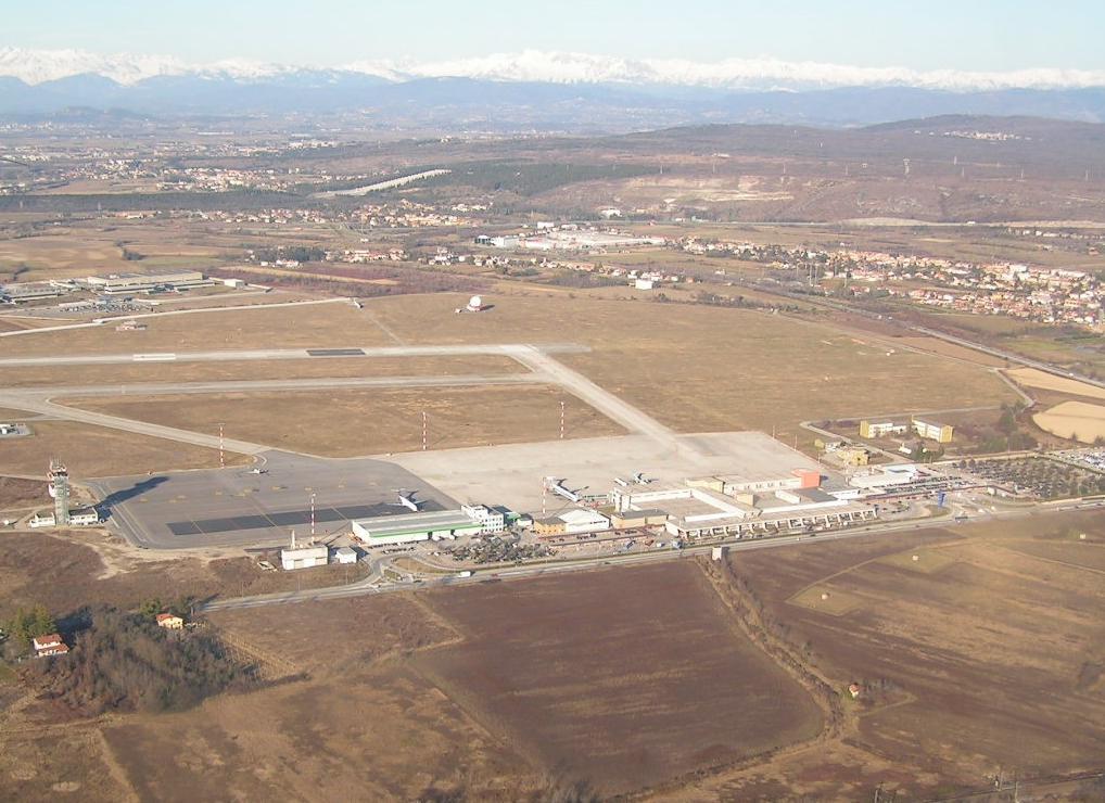 Aeroporto Trieste : Aeroporto di trieste ronchi dei legionari mapio