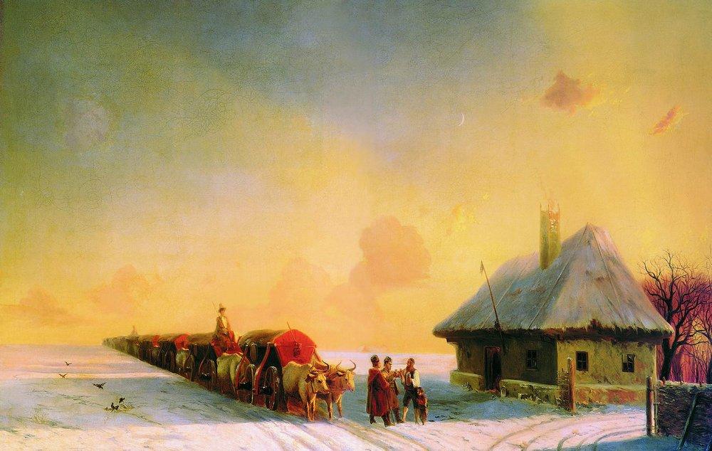 http://upload.wikimedia.org/wikipedia/commons/3/36/Aivasovsky_Ivan_Constantinovich_-_Chumaks_in_Little_Russia.jpg
