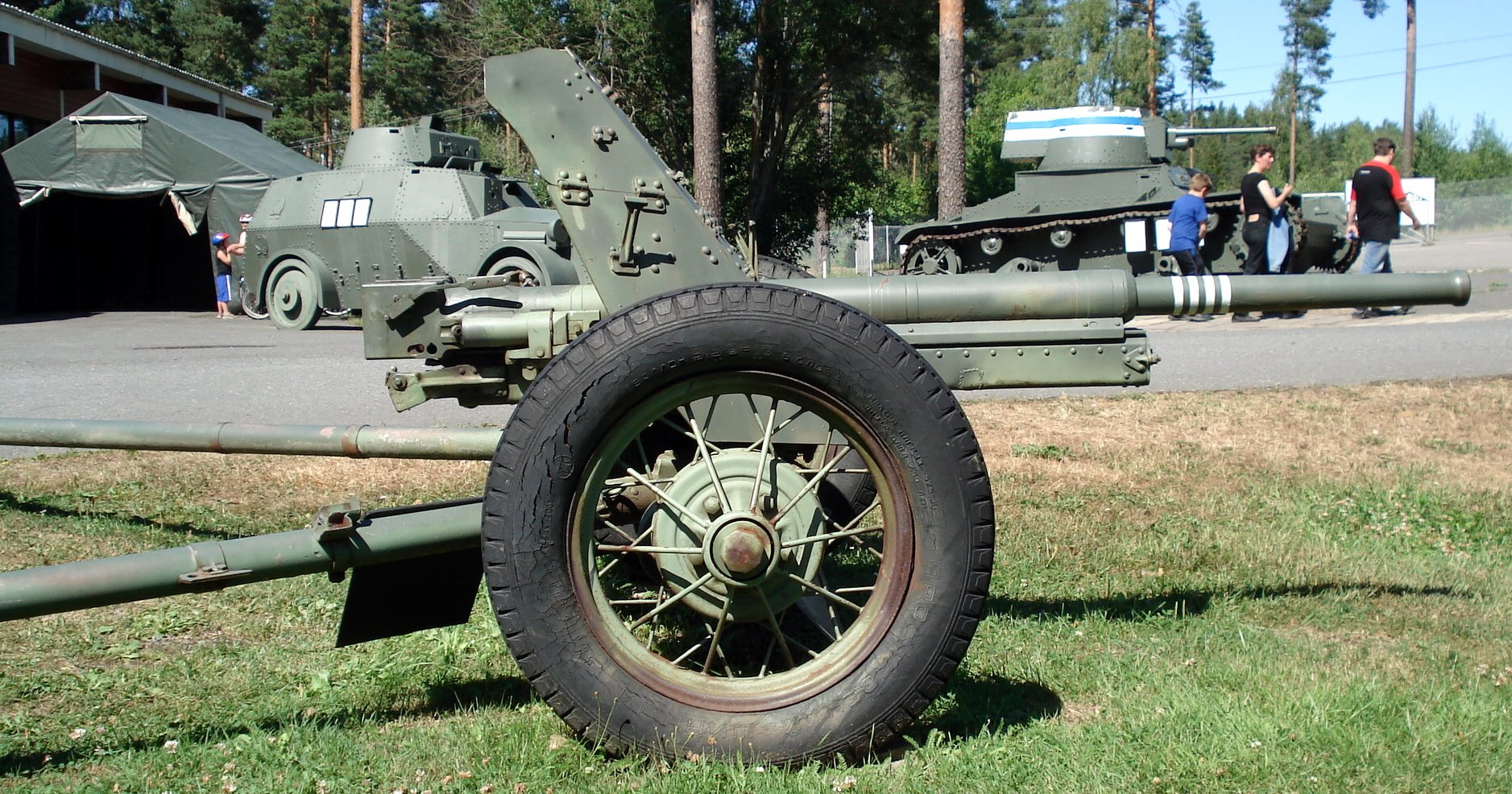 German 50 Mm Anti Tank Gun: File:Anti-tank Gun 45mm M1937 Parola 3.jpg