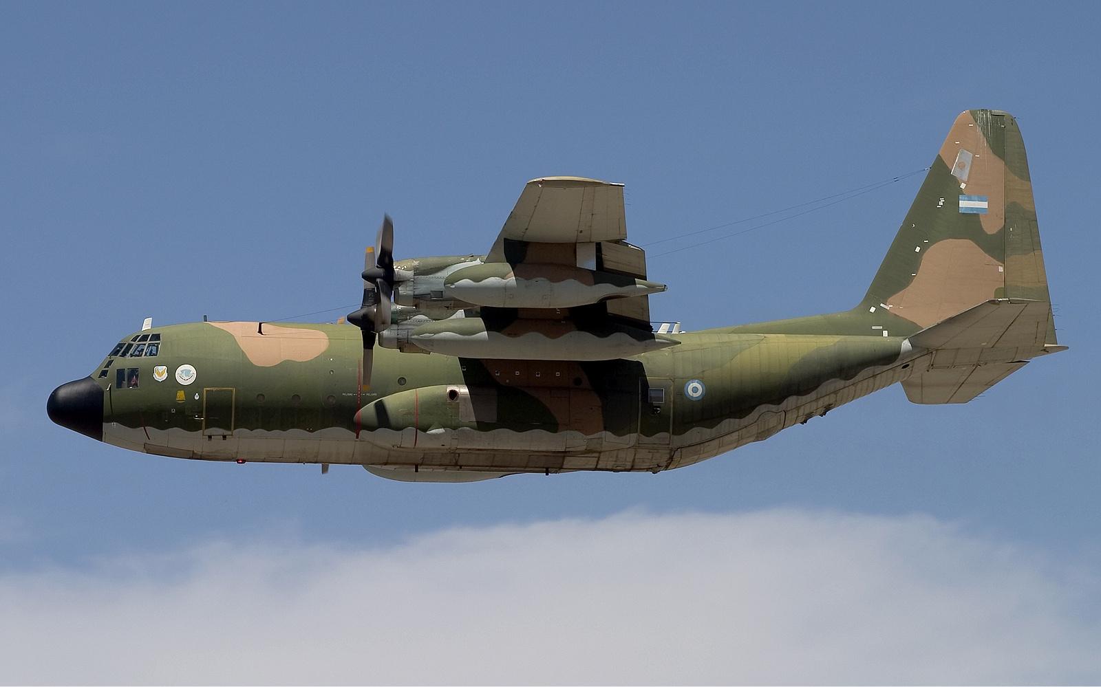 La modernización de los C-130 Hércules Argentina_Air_Force_KC-130H_Hercules_Lofting