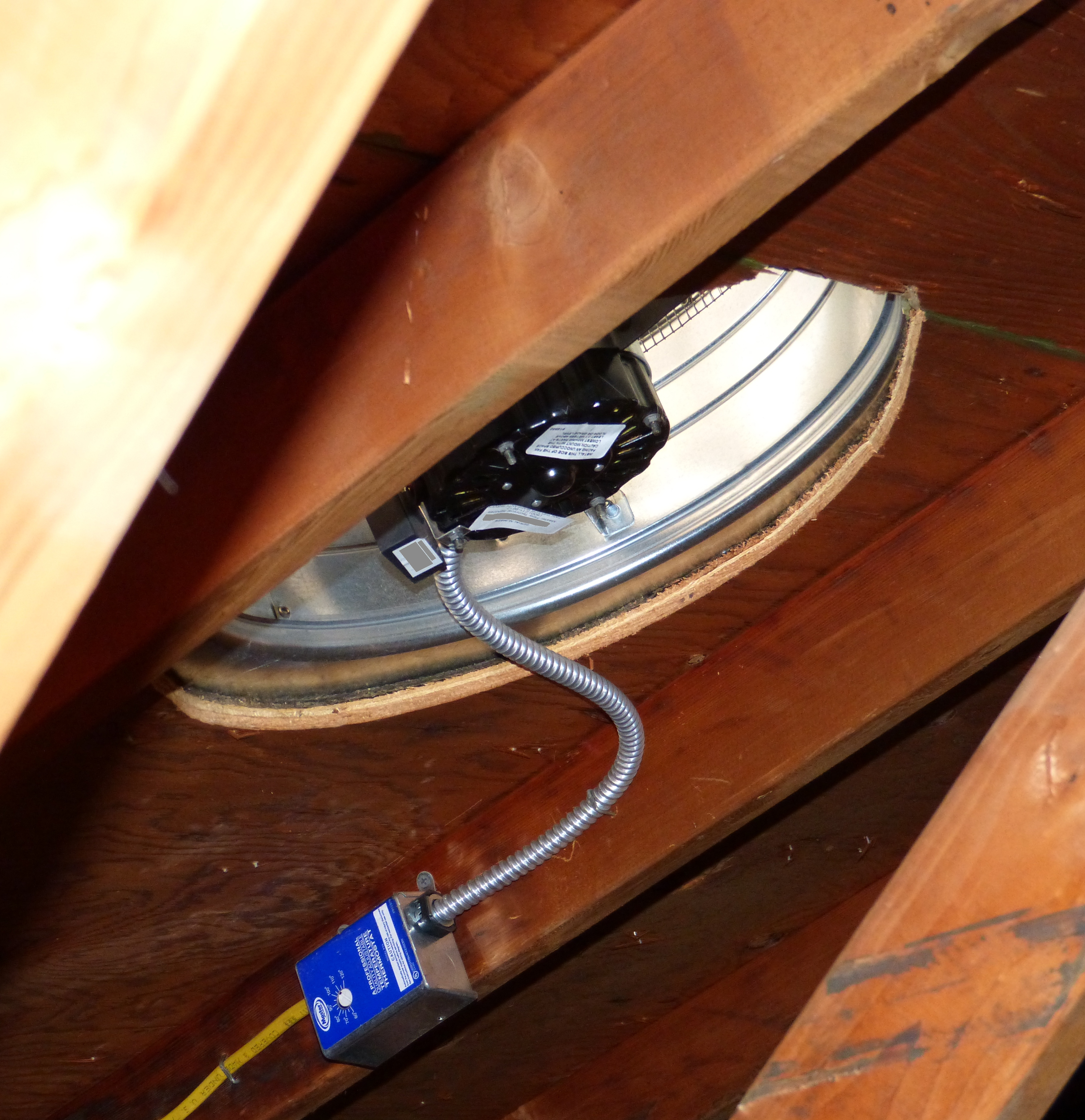 Attic fan - Wikipedia | Whole House Fan Wiring |  | Wikipedia