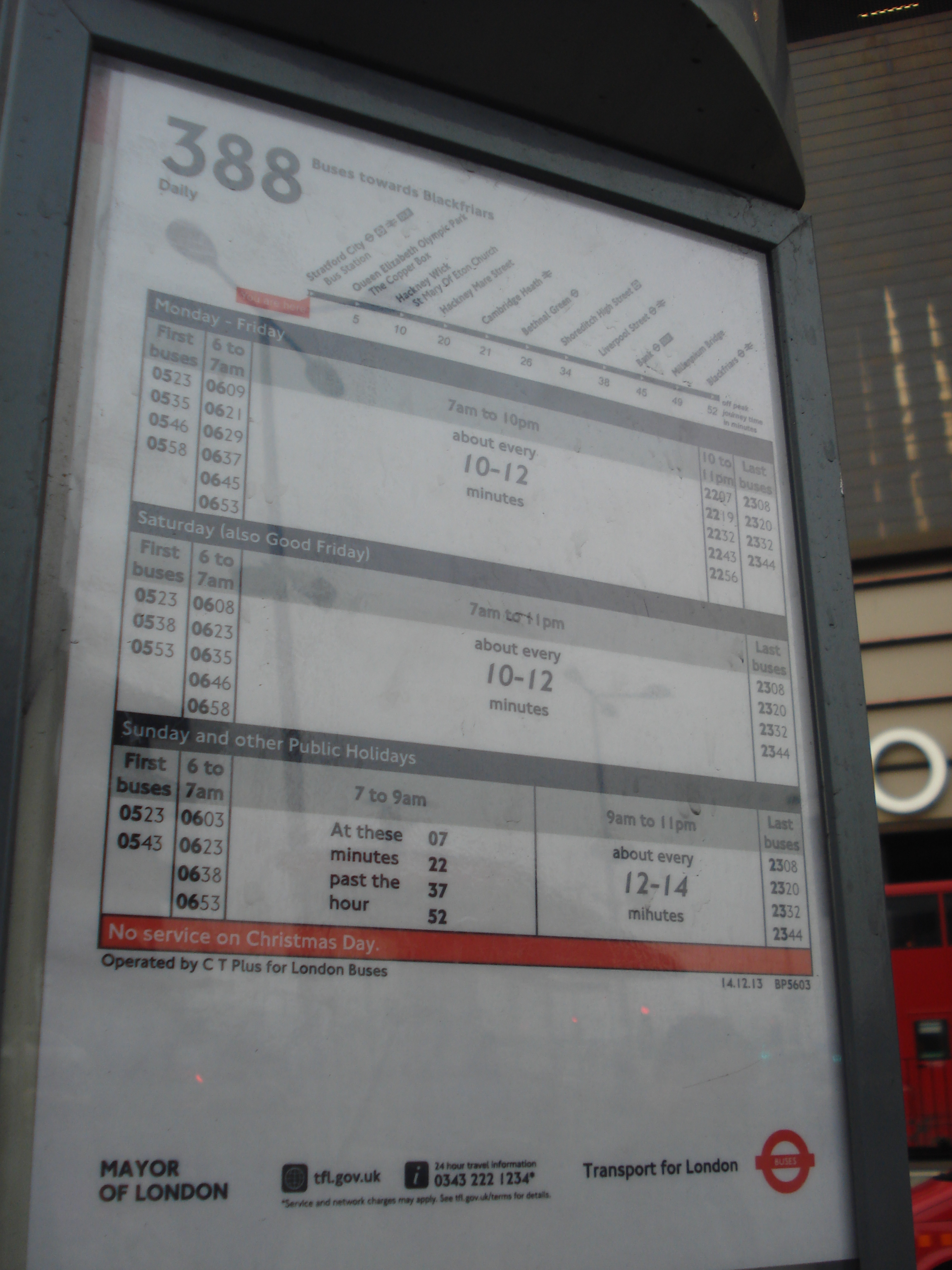 file:au morandarte flickr route 388 timetable at stratford city bus