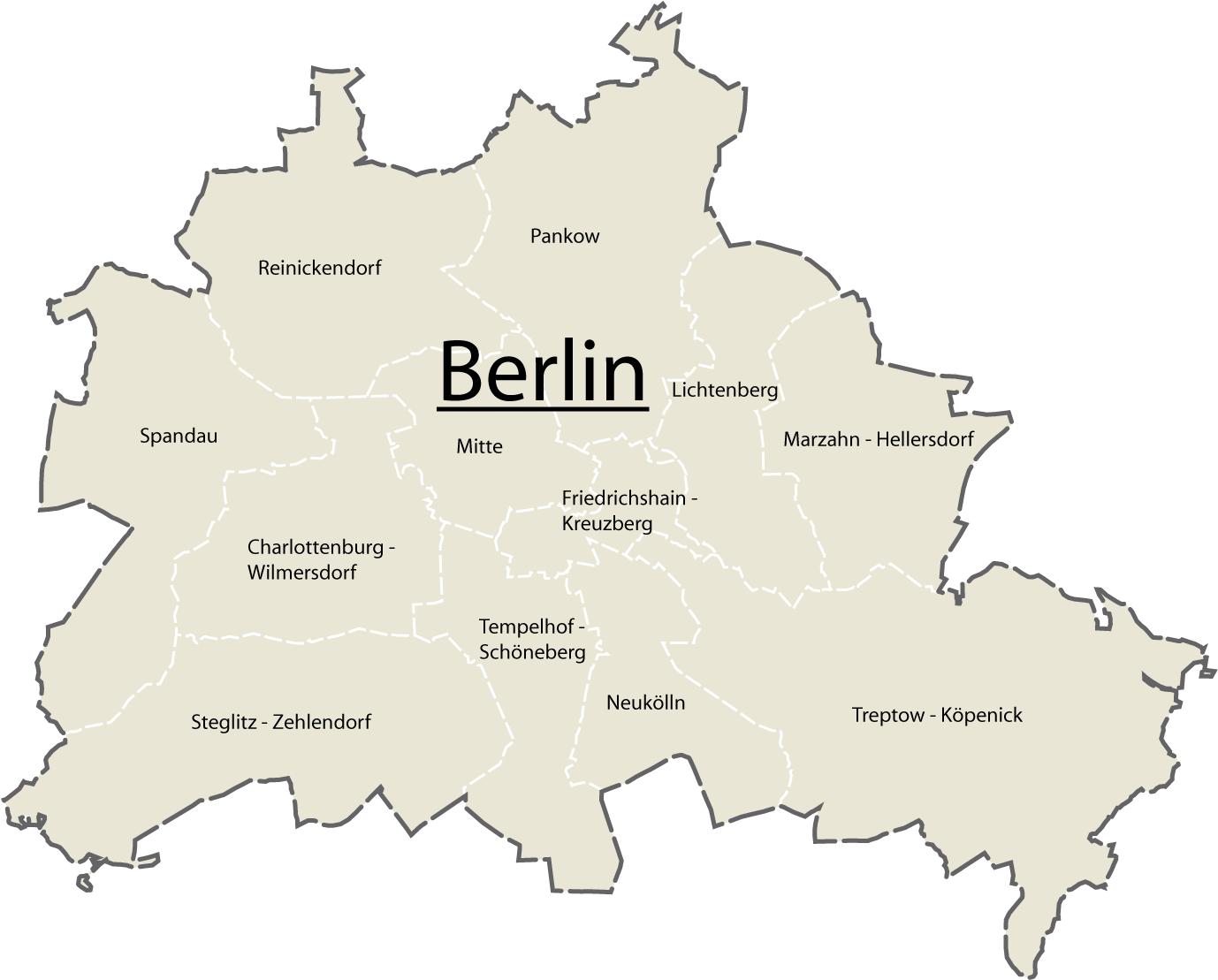 Geographie Berlin
