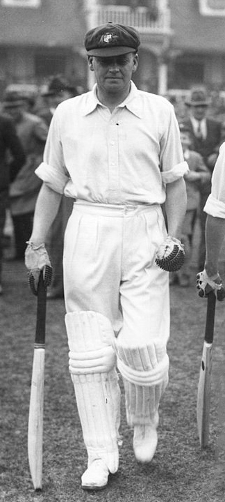 Bill Woodfull in 1934