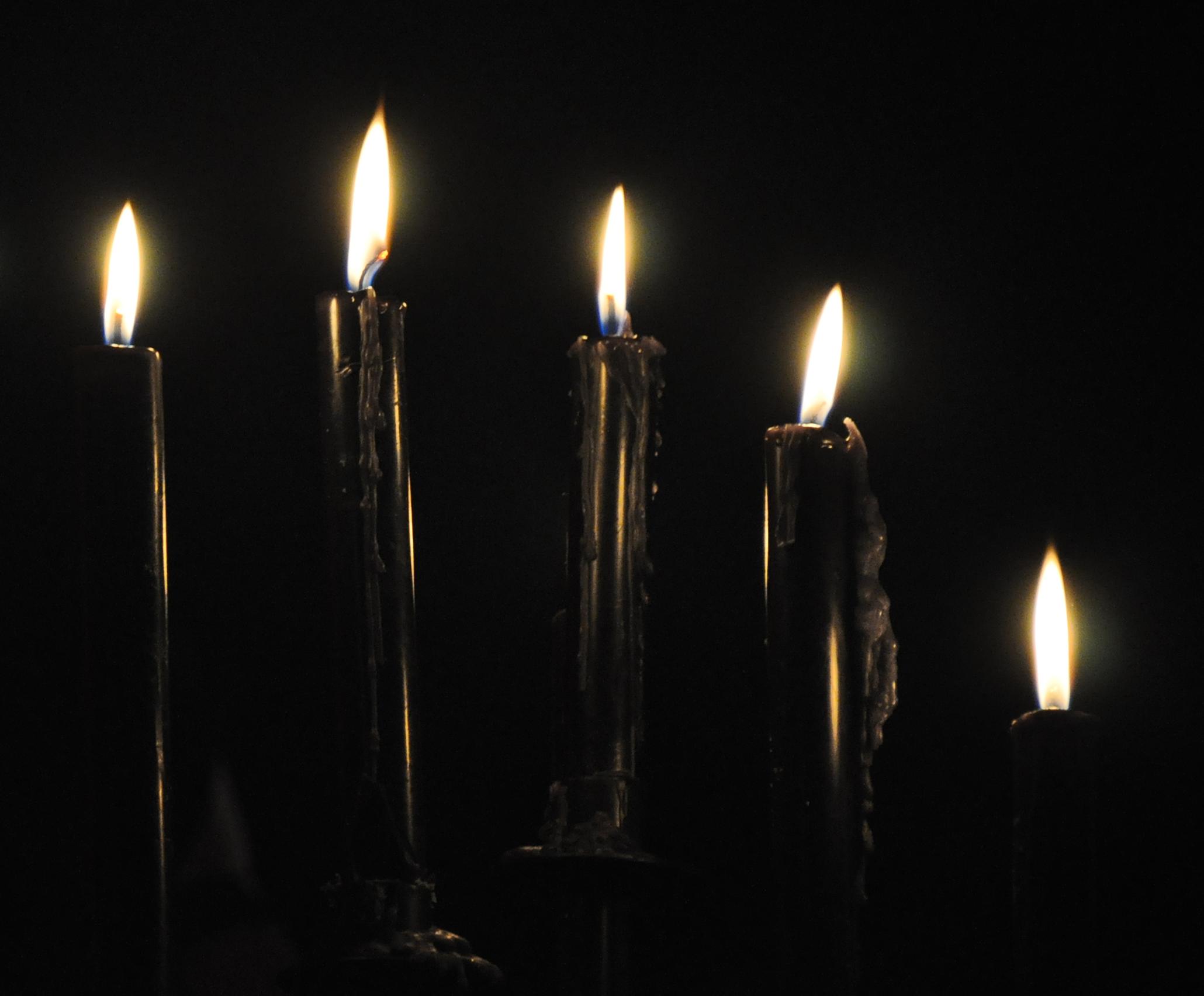 Halloween Birthday Candles