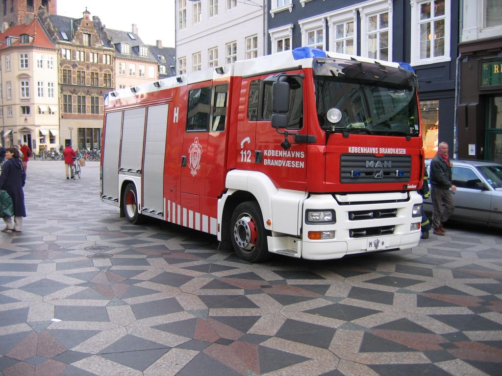 Hovedstadens Beredskab Greater Copenhagen Fire Department Denmark Firefighter