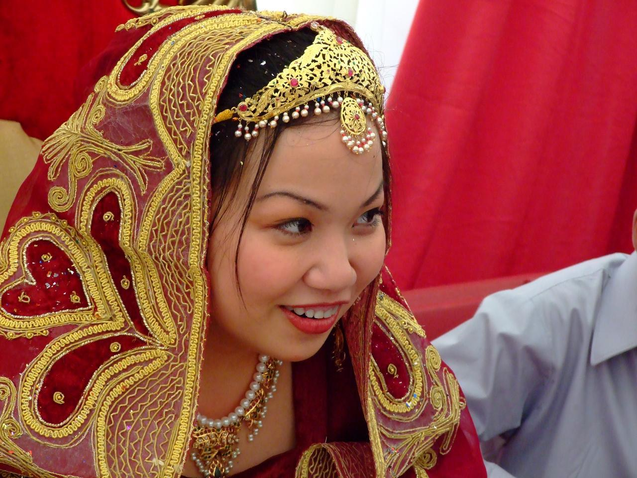 Description Bride at Nikah.jpg