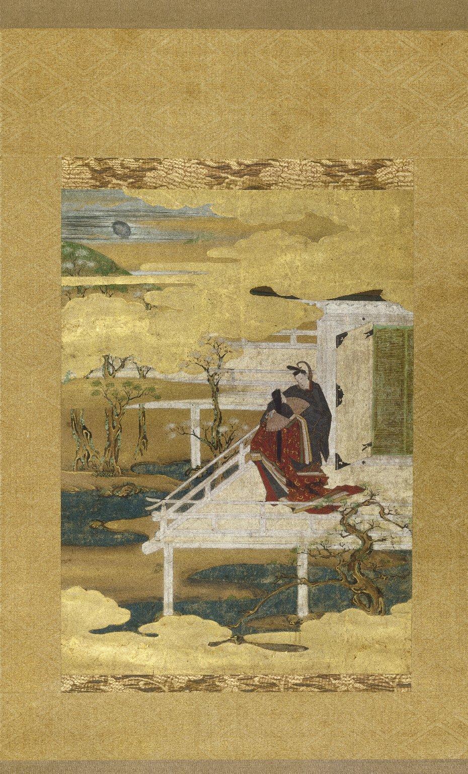 Scene from Tale of Genji