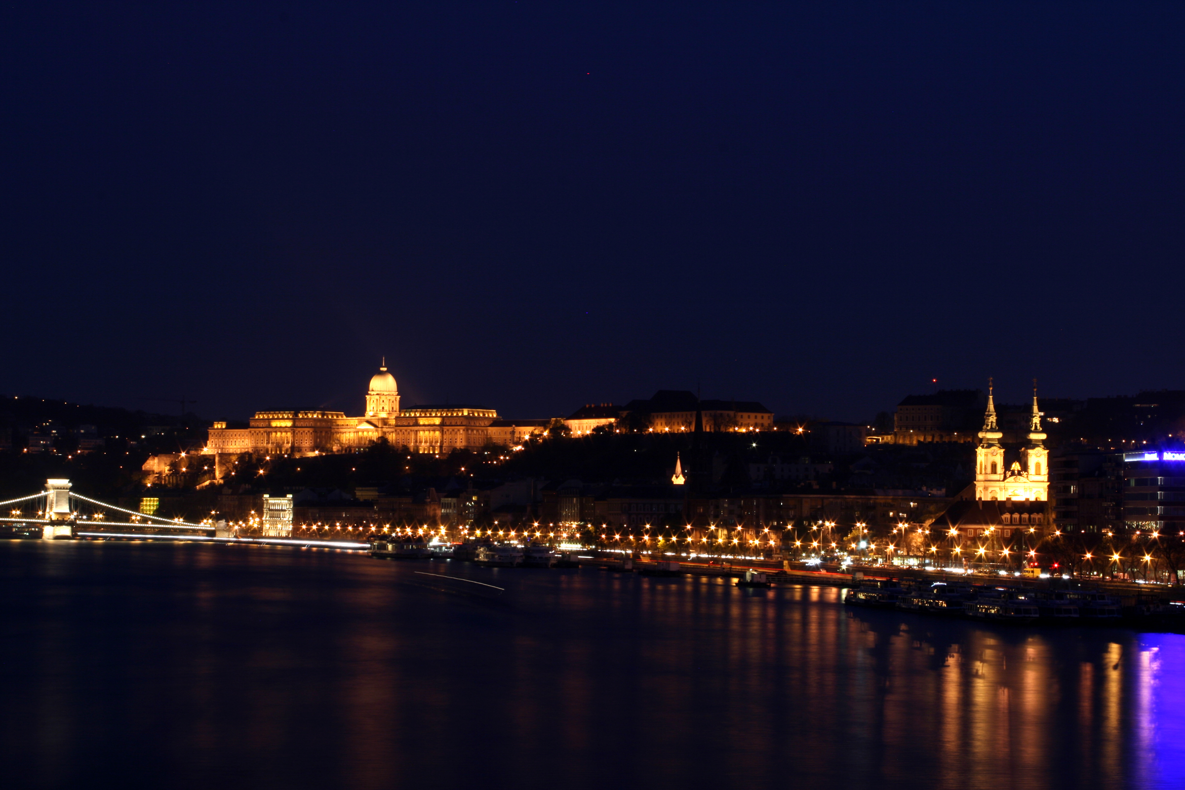 File Budapest Castle Night 3 Jpg Wikimedia Commons