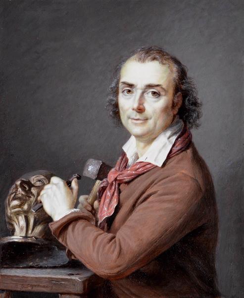 File:Capet - Houdon travaillant au buste de Voltaire, 1800.jpg