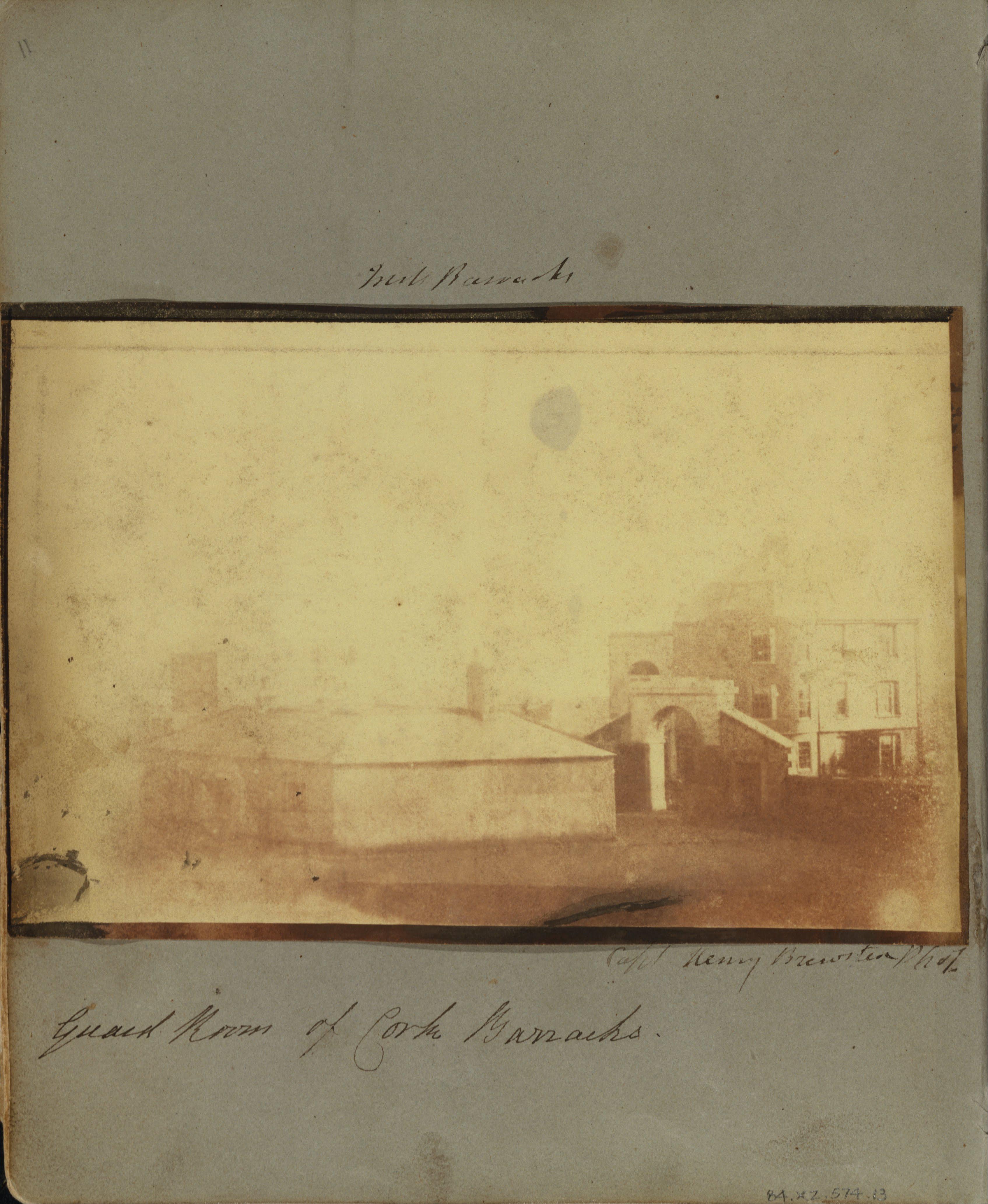 File:Capt. Henry Craigie Brewster (British - Cork Barracks. - Google ...