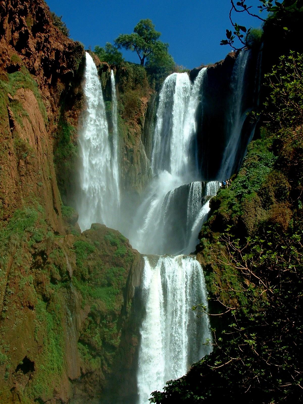 Cascadas de Ouzoud, en Marruecos, de las excursiones mejores y más bonitas de Marruecos