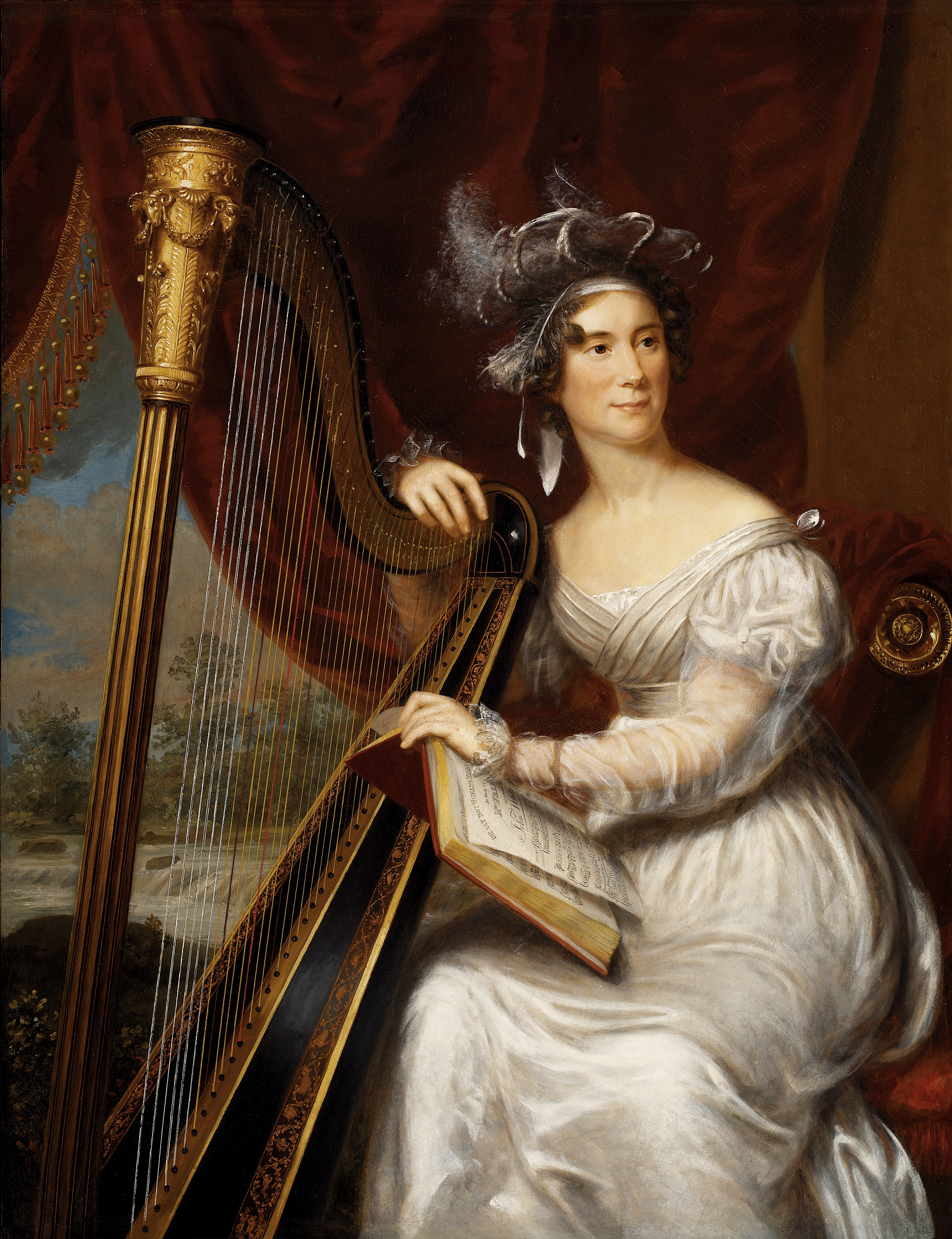 Charles_Bird_King_portrait_of_Louisa_Ada
