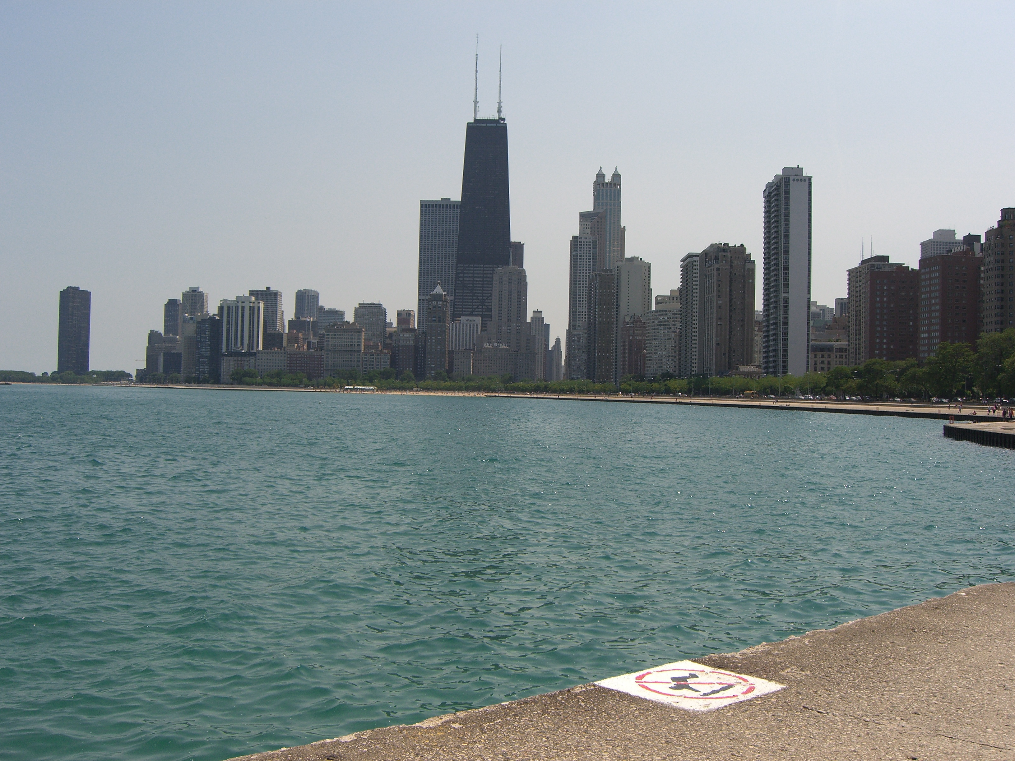 File Chicago South View Just Of North Beach Panoramio Jpg