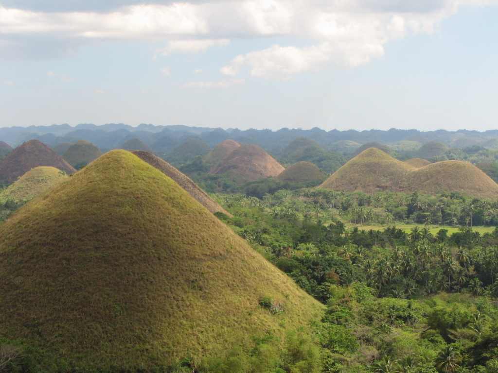 English: Chocolate Hills, Bohol Province, Phil...