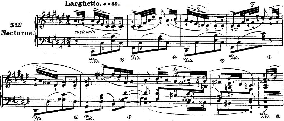 Chopin nocturne op 15 no 3 analysis essay