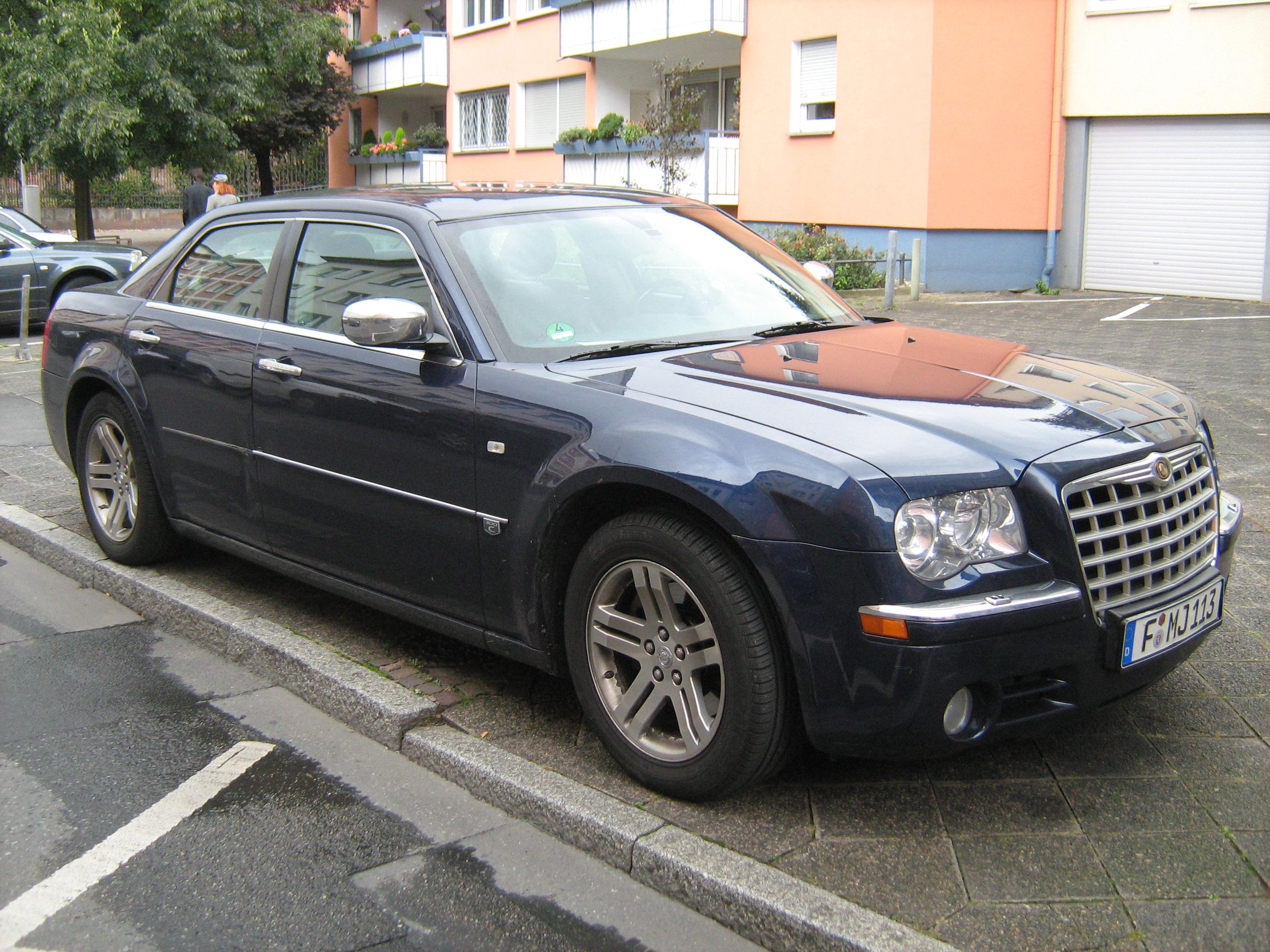 File Chrysler 300c In Germany Blue Jpg Wikimedia Commons