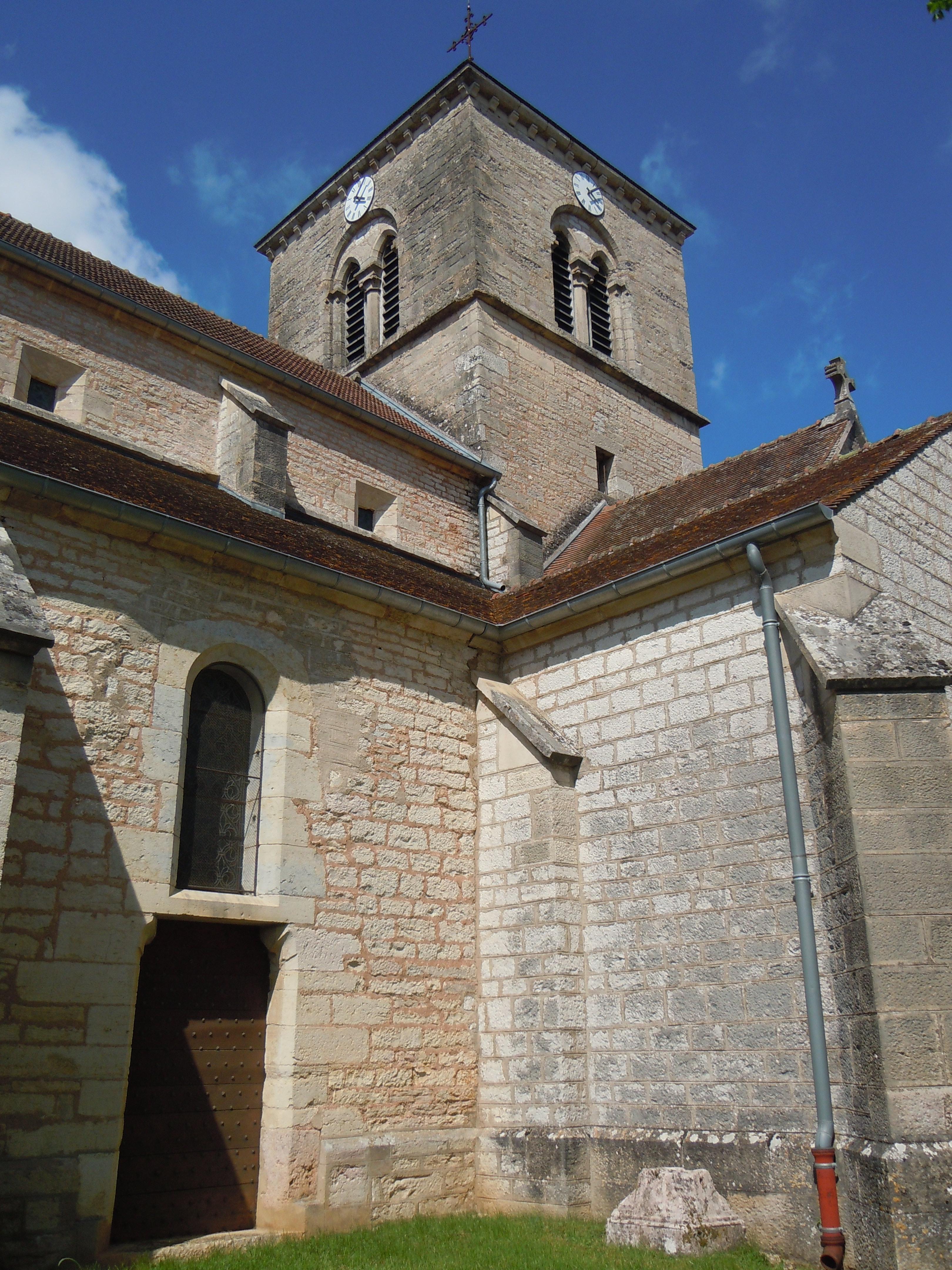 Narbonne Version 3 1: File:Clocher De L'église Saint-Jean-Baptiste De Fleurey