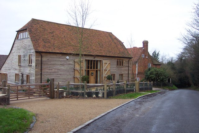 File:Converted barn at Ruck Farm - geograph.org.uk - 293714.