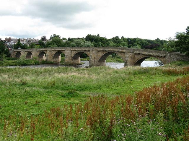 Corbridge Bridge - geograph.org.uk - 1409768