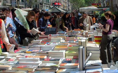 Sant Jordi Day: Barcelona, The Literature paradise