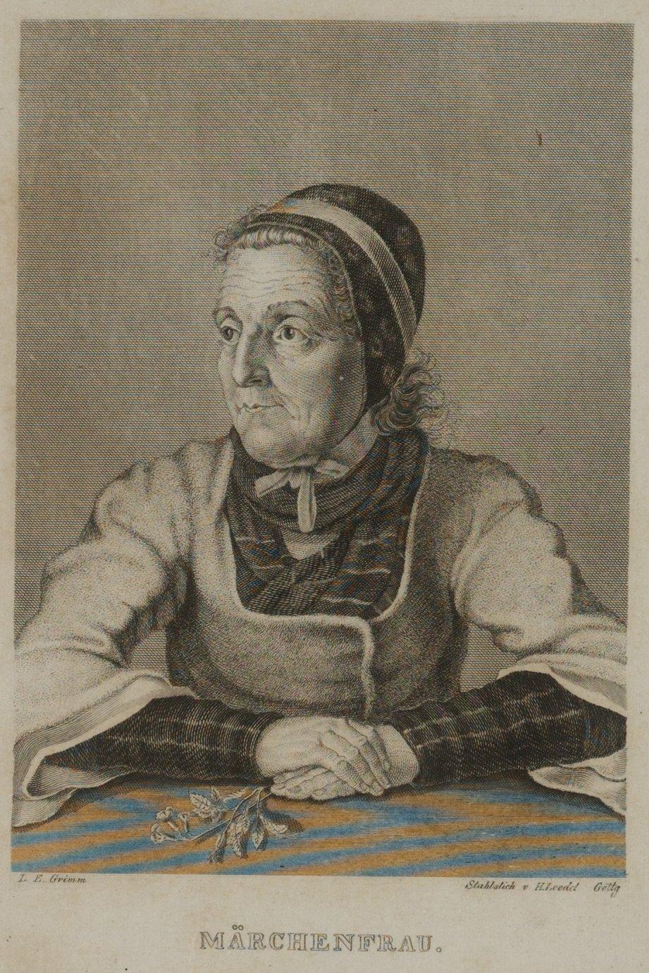 Kinder- und Hausmärchen / Die_Maerchenfrau.jpg (Wikimedia Commons)