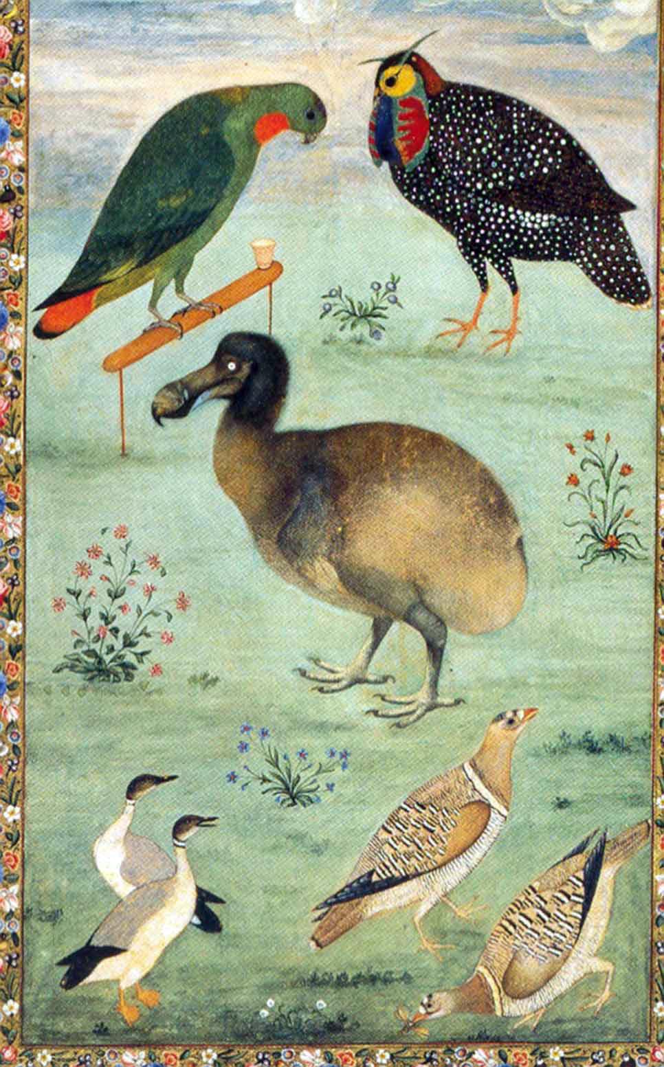Mughlai maalaus 1600-luvulta