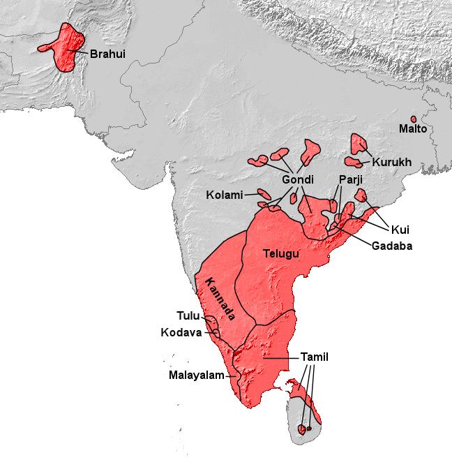 Atlas of india wikimedia commons dravidische spracheng dravidian languages gumiabroncs Images