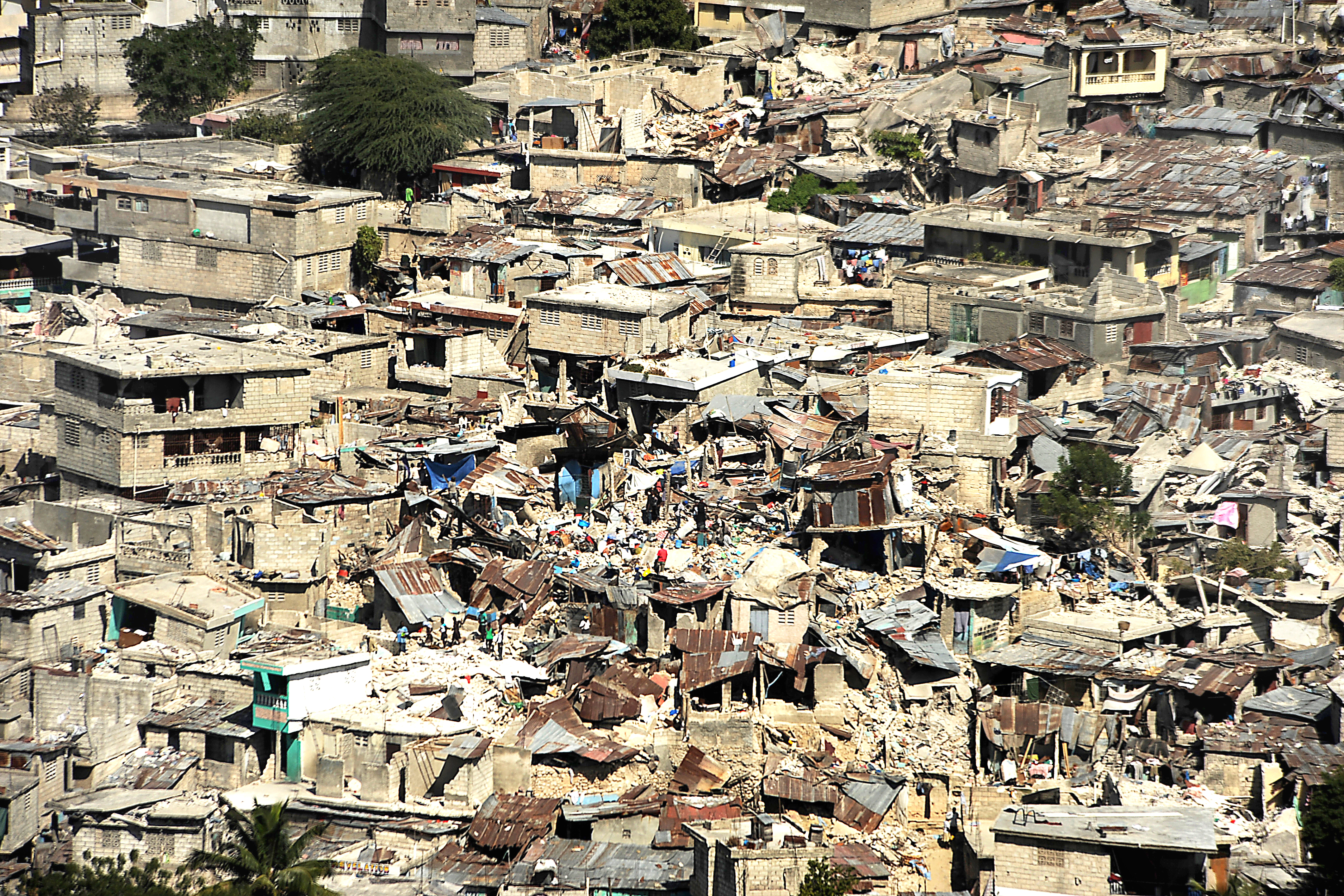 devastating earthquake ravaged haiti - HD 4248×2832