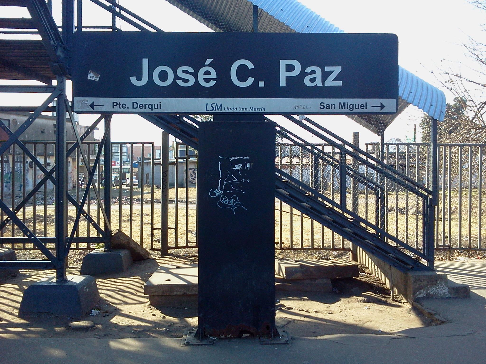 Archivo Estacion Jose C Wikipedia La