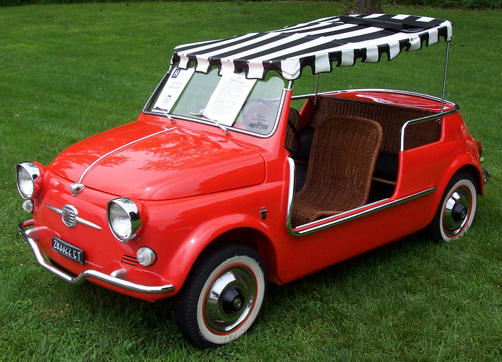 Fiat 500 Ghia Jolly Wikiwand