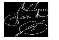 Firma de Antonio López de Santa Anna